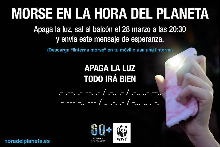 La Hora del Planeta 2020 se vuelve digital en solidaridad con las personas y el planeta