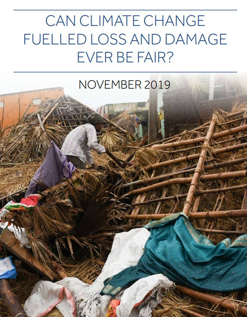 Can climate change fuelled loss and damage Report_Noviembre2019