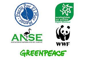 Organizaciones que han elaborado y entregado sus propuestas para proteger el Mar Menor.