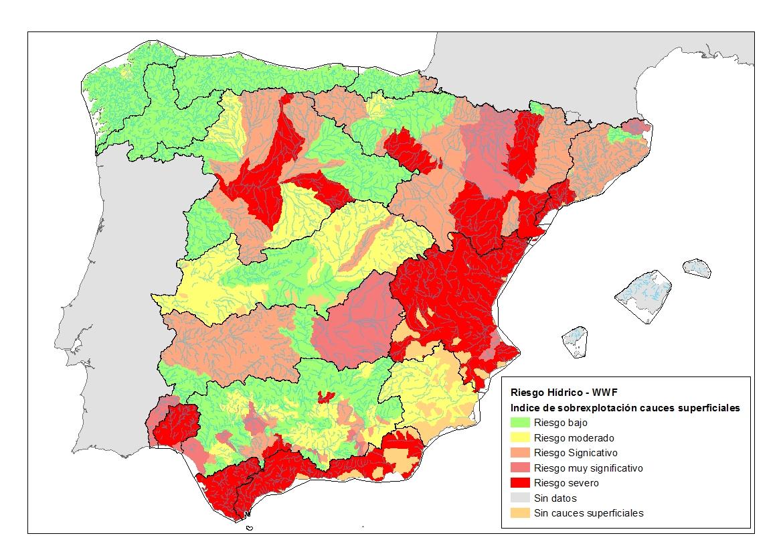 Espana Es El Pais Con Mayor Sobreexplotacion De Agua De Europa