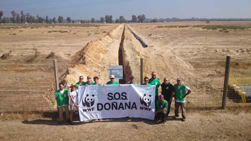 No al gas de Doñana